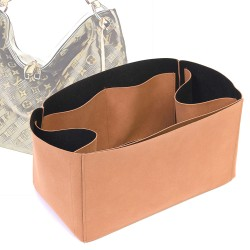 Regular Style Nubuck Leather Handbag Organizer for LV Berri Models
