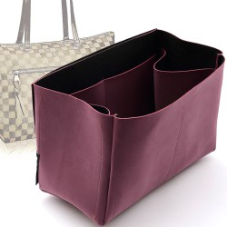 Regular Style Nubuck Leather Handbag Organizer for Iena MM