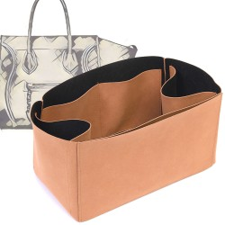 Regular Style Nubuck Leather Handbag Organizer for Celine Phantom Medium