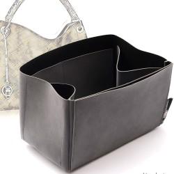 Regular Style Nubuck Leather Handbag Organizer for LV Artsy Models