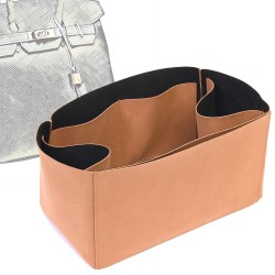 Regular Style Nubuck Leather Handbag Organizer for Birkin Models