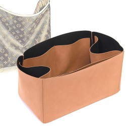Regular Style Nubuck Leather Handbag Organizer for Delightful Models