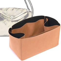 Regular Style Nubuck Leather Handbag Organizer for Lindy 30 and Lindy 34