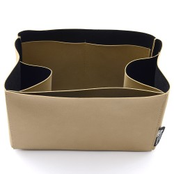 Regular Style Nubuck Leather Handbag Organizer for Celine Mini Luggage Bag