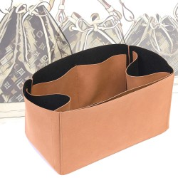 Regular Style Nubuck Leather Handbag Organizer for LV Noe Models
