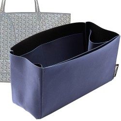 Regular Style Nubuck Leather Handbag Organizer for Goyard St Louis GM and Anjou tote GM