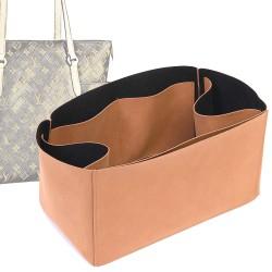 Regular Style Nubuck Leather Handbag Organizer for Totally Models