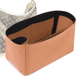 Singular Style Nubuck Leather Handbag Organizer for Delightful Models