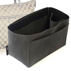Singular Style Nubuck Leather Handbag Organizer for LV Iena MM