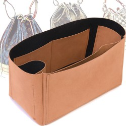 Singular Style Nubuck Leather Handbag Organizer for Noe Models