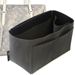 Singular Style Nubuck Leather Handbag Organizer for Totally Models