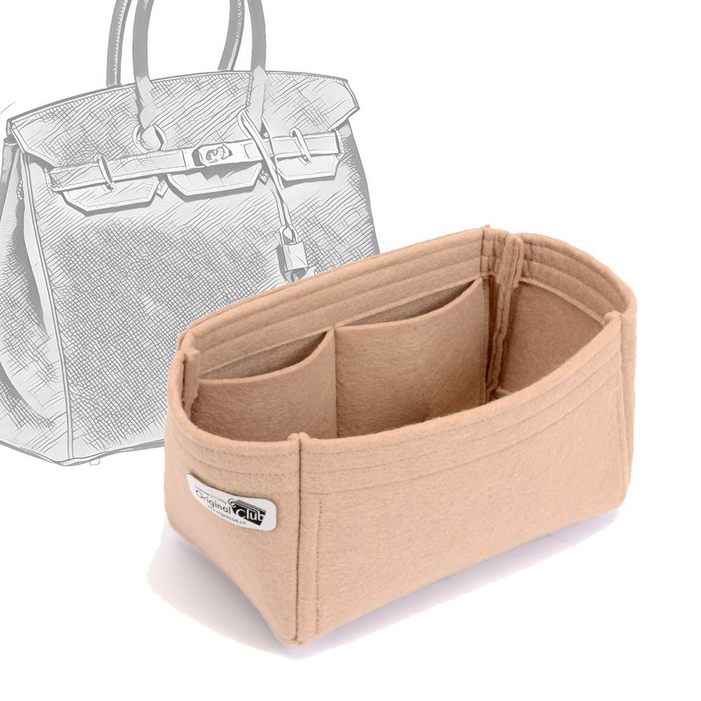 Bag and Purse Organizer with Basic Style for Hermes Birkin 25, 30, 35 and 40