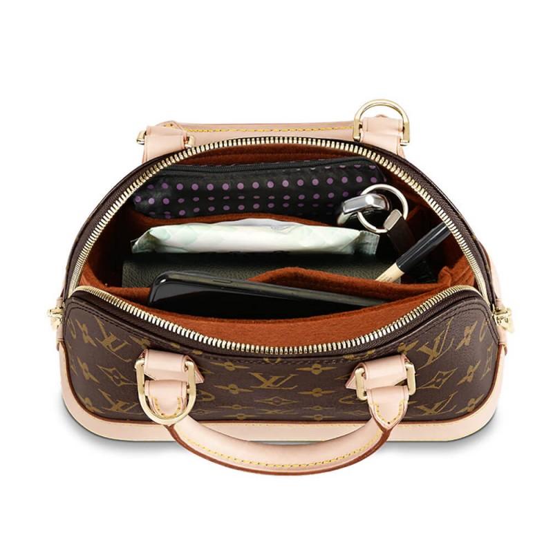 Alma Basic Style Felt Bag and Purse Organizer  Bag Insert for Alma bb Alma MM Alma PM and Alma GM  Alma Purse Insert