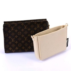 Bag and Purse Organizer with Basic Style and D-rings for LV Toiletry Pouch 19 / 26