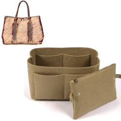 Bag and Purse Organizer with Clutched Style for Hermes Garden Party 36