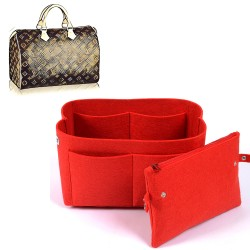 Bag and Purse Organizer with Clutched Style for Louis Vuitton Speedy Models