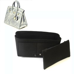 Bag and Purse Organizer with Clutched Style for Hermes Birkin 35 and Birkin 40