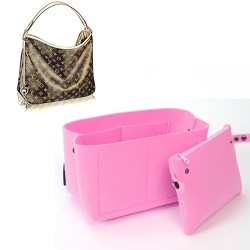 Bag and Purse Organizer with Clutched Style for Louis Vuitton Delightful Models