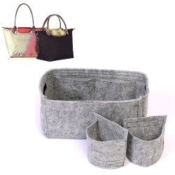 Bag and Purse Organizer with Detachable Style for Longchamp Le Pliage
