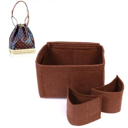 Bag and Purse Organizer with Detachable Style for Louis Vuitton NOE