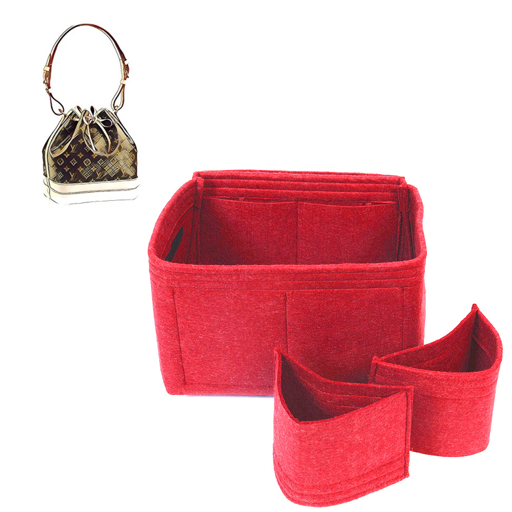 Bag and Purse Organizer with Detachable Style for Louis Vuitton Petit Noe