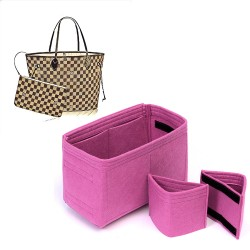 Bag and Purse Organizer with Detachable Style for Louis Vuitton Neverfull Models