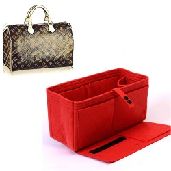 Bag and Purse Organizer with Flapper Style for Louis Vuitton Speedy 35 and Speedy 40