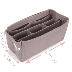 "Fix Size Bag and Purse Organizer with Chamber Style ( 36 cm / 14"" Length )"