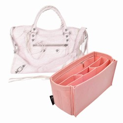 Handbag Organizer with All-in-One Style for Classic City Bag (Medium) (More colors available)