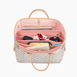 Handbag Organizer with All-in-One Style for Louis Vuitton Neverfull PM, MM and GM