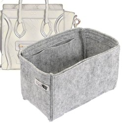 Bag and Purse Organizer with Basic Style for Celine Nano Luggage