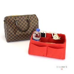 Bag and Purse Organizer with Singular Style for Louis Vuitton Speedy Models