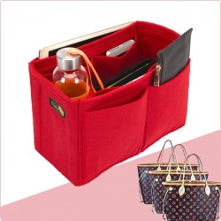 Bag and Purse Organizer with Singular Style for Louis Vuitton Neverfull