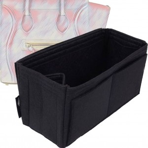 Bag and Purse Organizer with Singular Style for Celine Phantom Medium Luggage (More colors available)