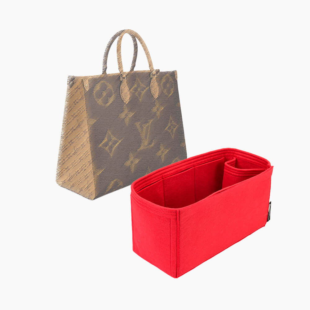 Bag and Purse Organizer with Singular Style for Louis Vuitton OntheGo MM and GM