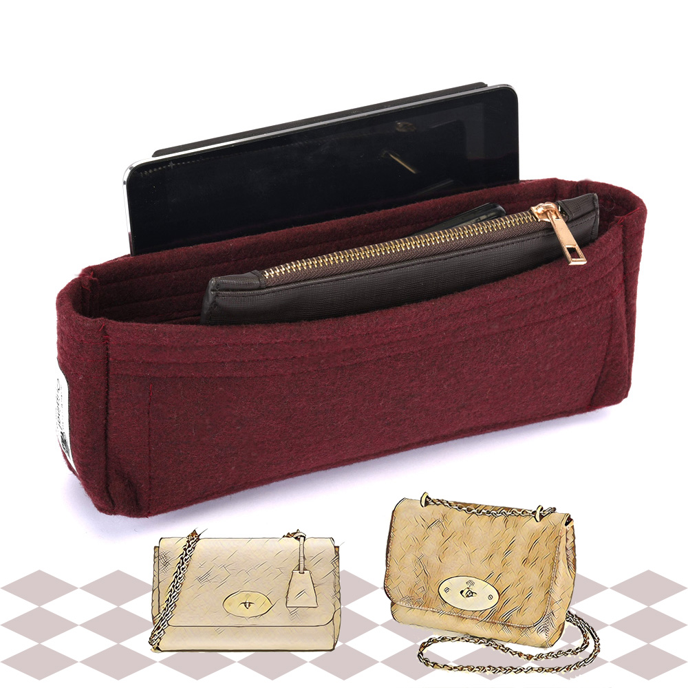 Bag and Purse Organizer with Basic Slim Style for Mulberry Lily Bags