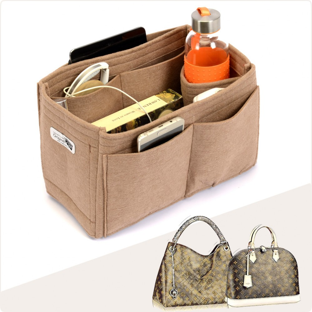 Bag and Purse Organizer with Singular Style  for Louis Vuitton Alma, Artsy