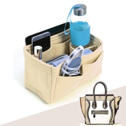 Bag and Purse Organizer with Singular Style for Celine Micro Luggage