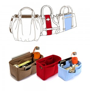 Custom Size Singular Style Bag and Purse Organizer