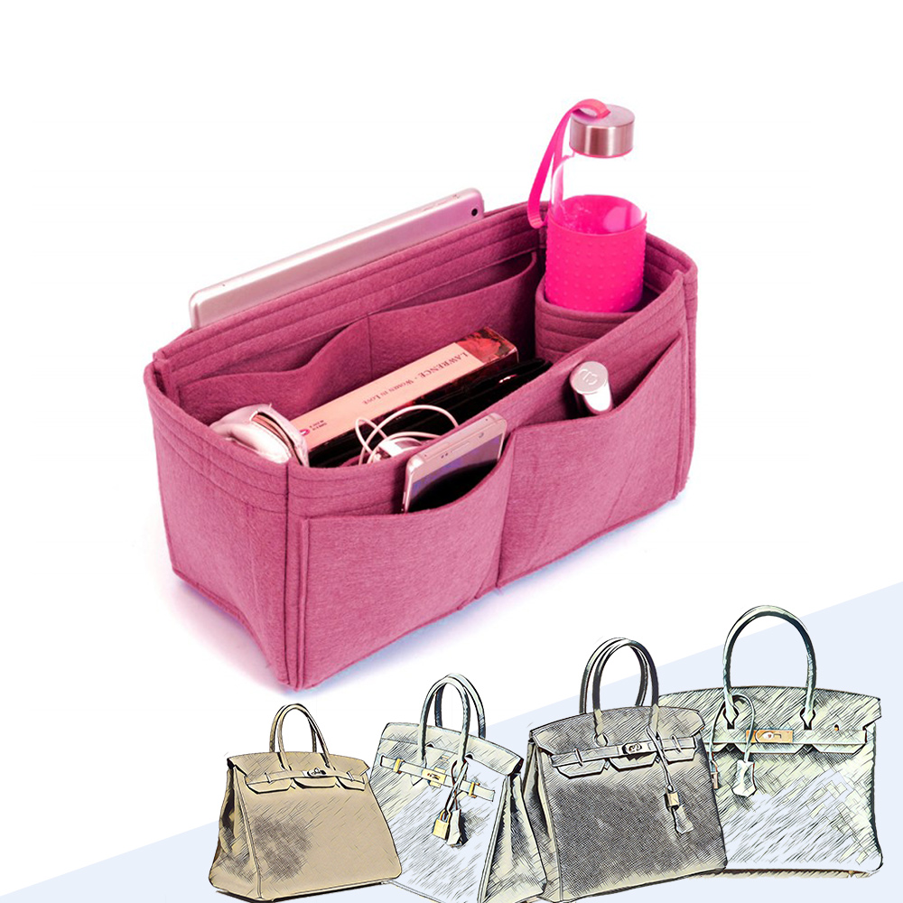Bag and Purse Organizer with Singular Style for Hermes Birkin 30, 35 and 40
