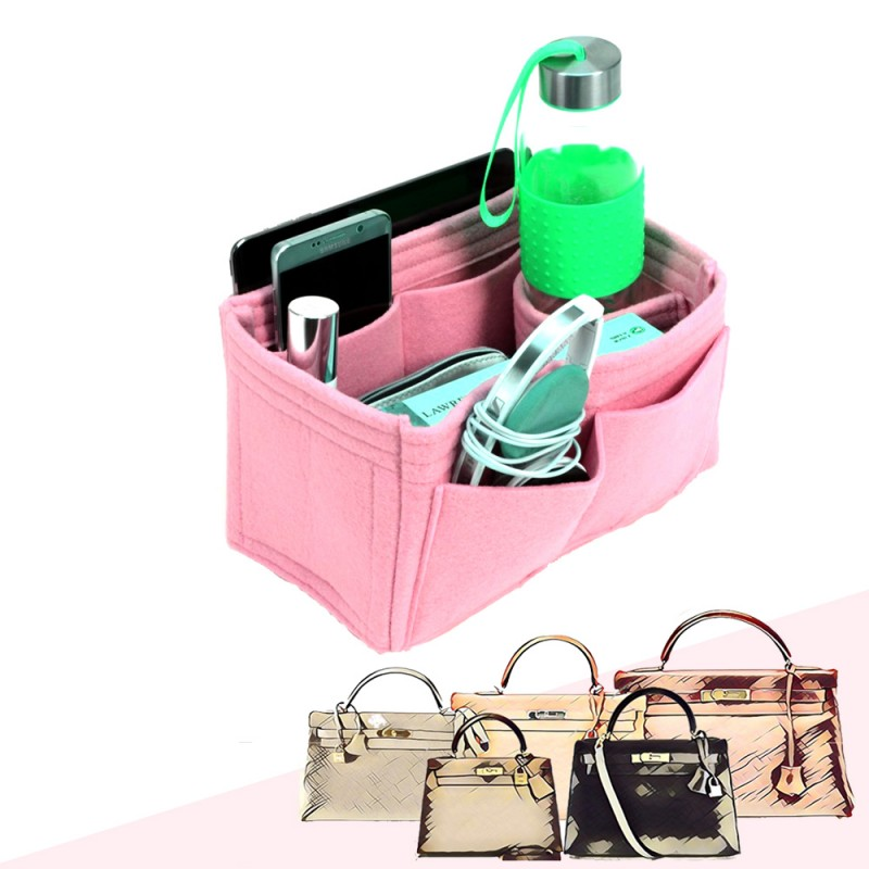 f74196b4a35 ... discount code for bag and purse organizer with singular style for hermes  kelly models 743f7 f218a