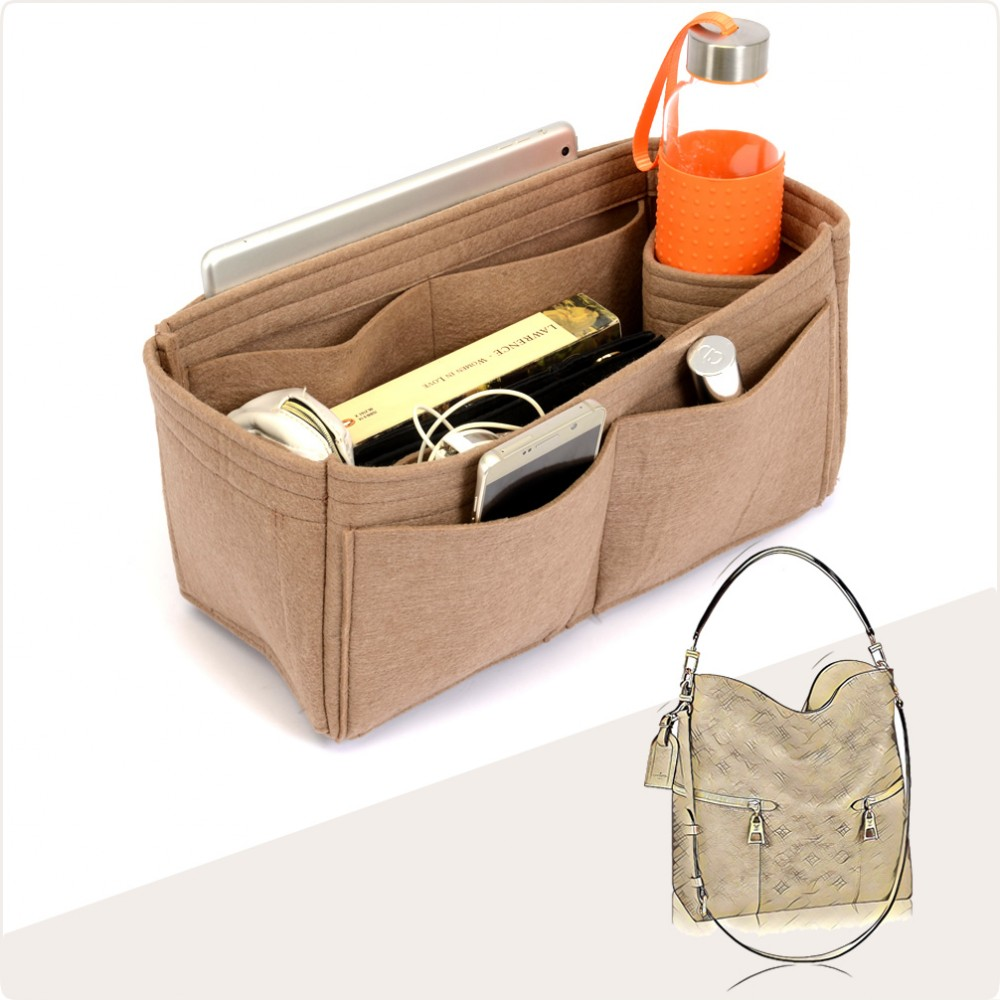 Bag and Purse Organizer with Singular Style for Louis Vuitton Melie