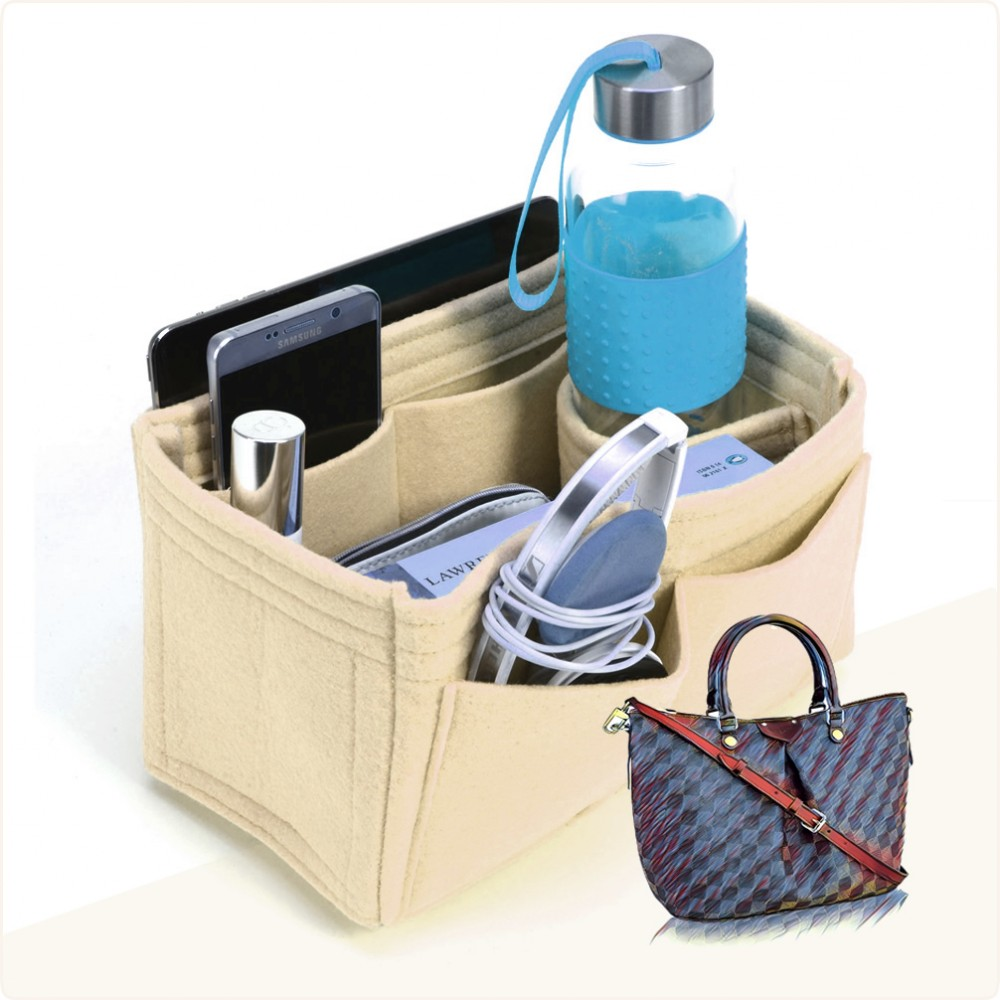 Bag and Purse Organizer with Singular Style for Louis Vuitton Siena MM
