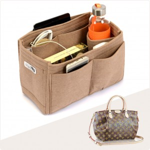 Bag and Purse Organizer with Singular Style for Louis Vuitton Turenne MM