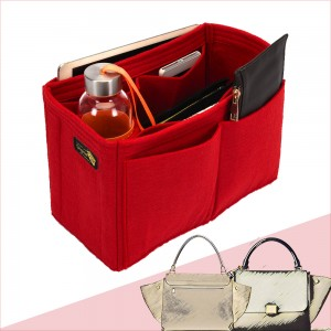 Bag and Purse Organizer with Singular Style for Celine Trapeze Small and Large