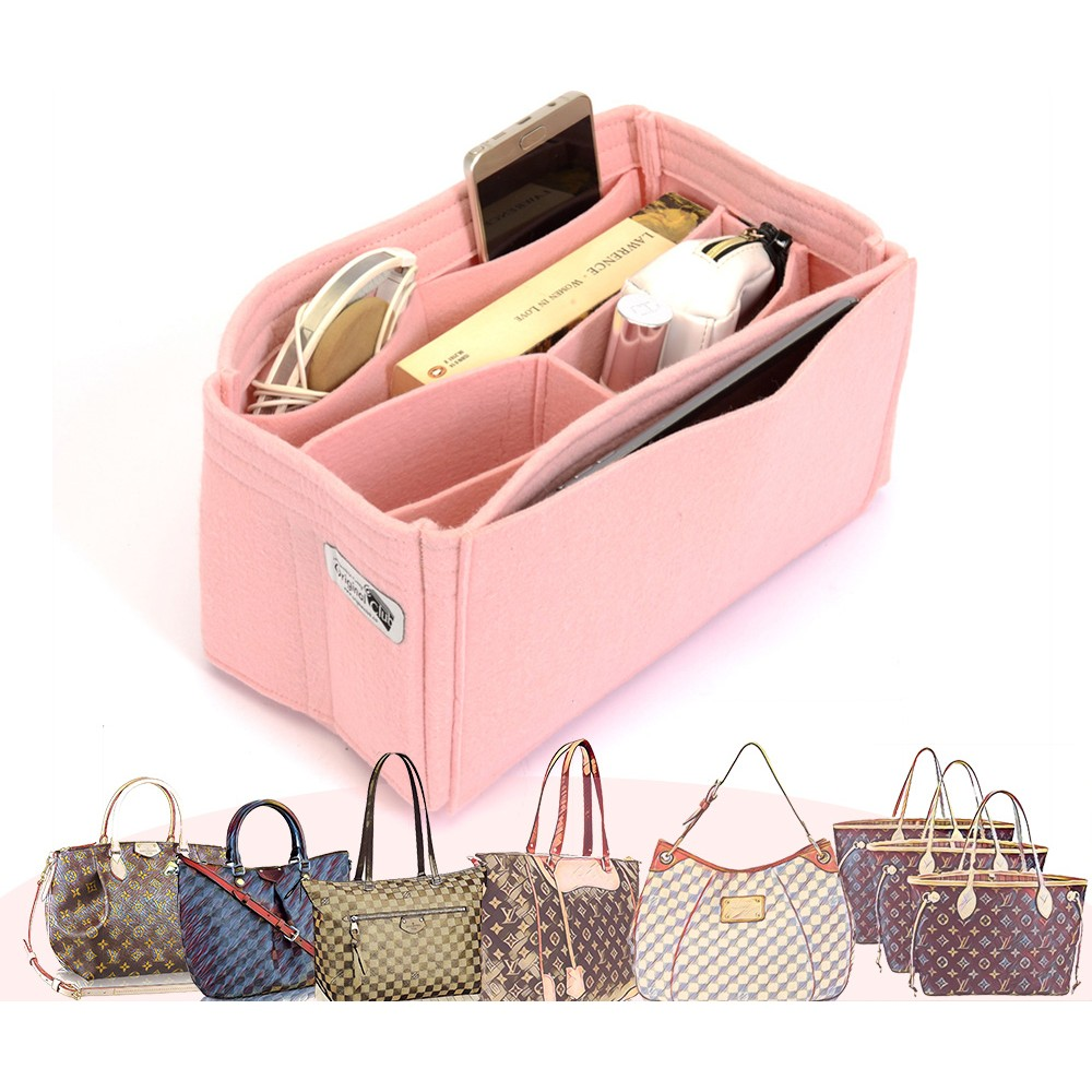 Bag and Purse Organizer with Chamber Style for Louis Vuitton Bags