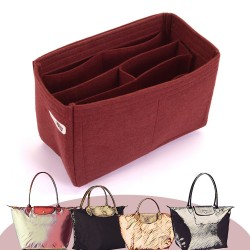 Bag and Purse Organizer with Chambers Style for Longchamp Le Pliage Models