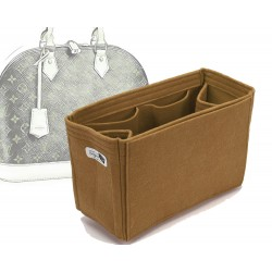 Bag and Purse Organizer with Regular Style for Louis Vuitton Alma Models