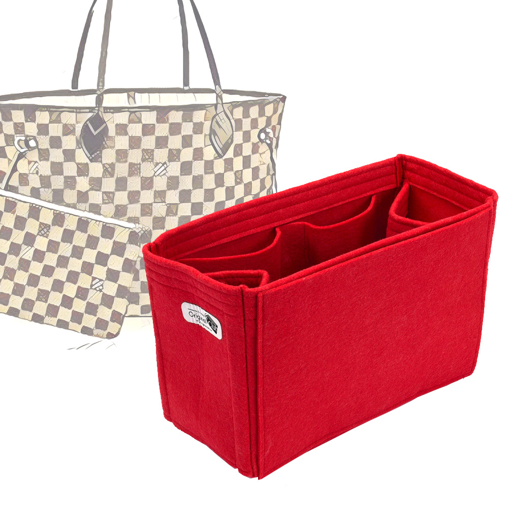 Bag And Purse Organizer With Regular Style For Louis Vuitton Neverfull Models