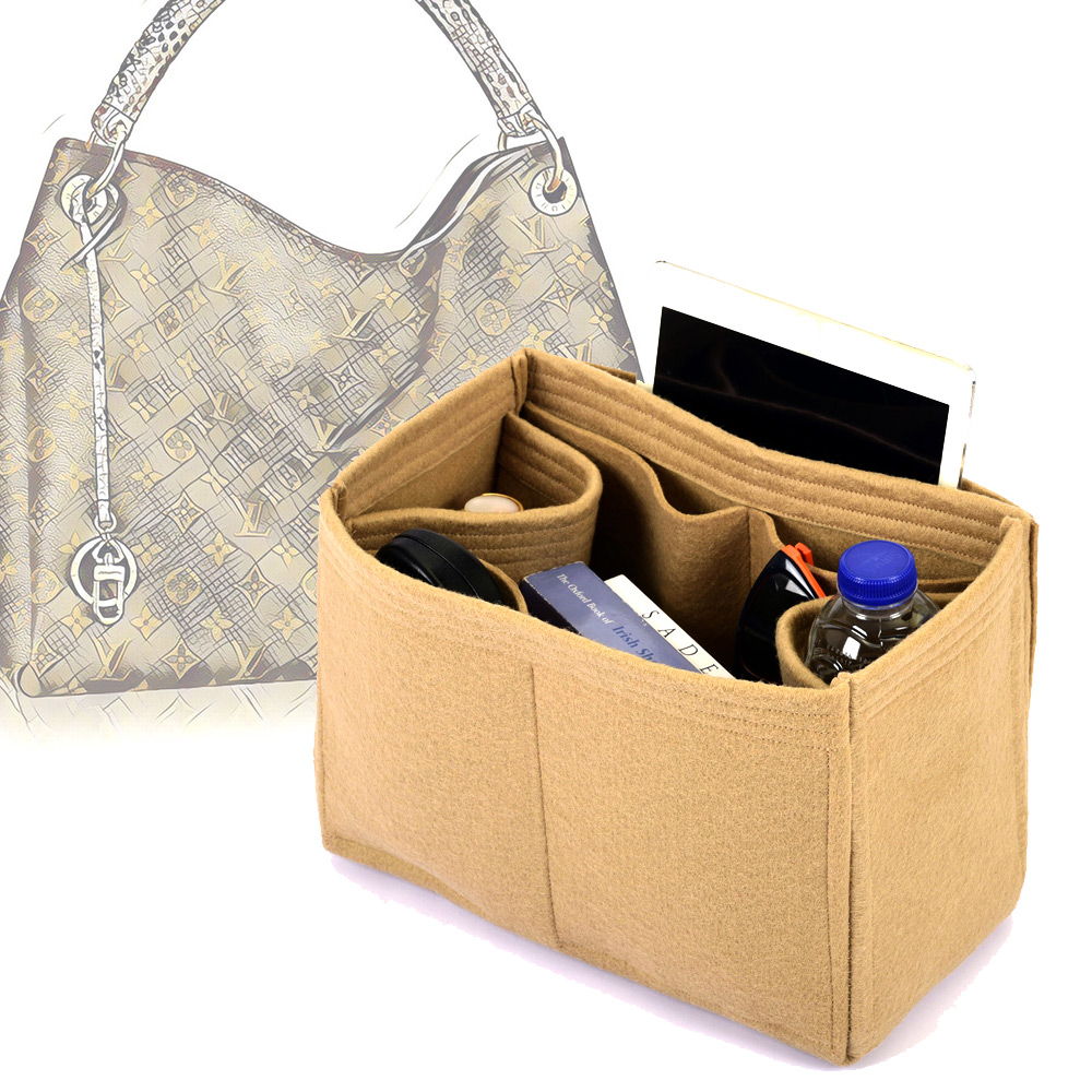 Bag and Purse Organizer with Regular Style for Louis Vuitton Artsy Models